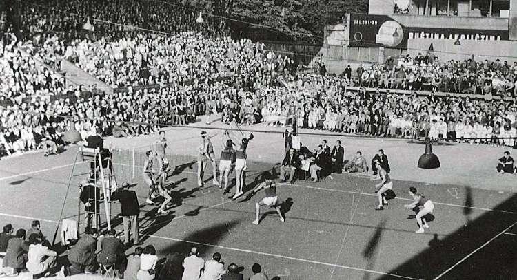 Sejarah permainan voli